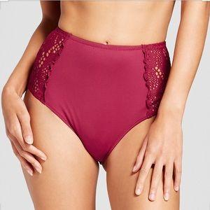 Mossimo Supply Co. Swim - 💗3/$25 🆕 Crochet High Waist Bikini Bottom